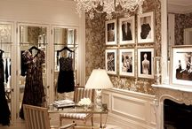 Dressing Rooms / Walk in wardrobes, dressing rooms and other spaces in the bedroom dedicated to clothing storage.