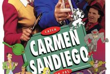 Where In The World Is Carmen Sandiego? / by Emmaleigh Hoard