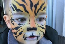 Alessandra Lezzi / Face painting / body painting / Belly painting