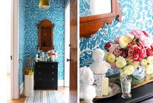 color me cool / design ideas... if only i had a home to decorate...