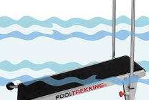 POOLTREKKING MIAMI / Treadmill for professional use, bandwidth of 500mm, guaranteed durability and resistance like the rest of the professional range POOLBIKING and POOLTREKKING machines. In this model there has been prioritized the utilization of the space, simplicity of use and assembly It incorporates a manual of training distributed by priorities, rehabilitation, loss of weight and running advanced training.