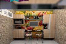 Cozinhas Planejadas * / Acesse nosso site, você tem a possibilidade de analisar nossos ambientes planejados de todos os ângulos.  Veja: http://goo.gl/t955sn  Contato: 83 4141-1248 / 99603-2957 (WhatsApp) E-mail: atendimento@desejodecoracao.com.br 