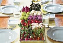 Centre de table végétale