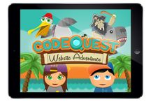 CodeQuest / CodeQuest App takes kids aged 6-8 on a coding adventure where kids will be able to create and share websites with friends, family and also in their classrooms.  Click here to download the Free iPad App: http://bit.ly/1C7BmgZ