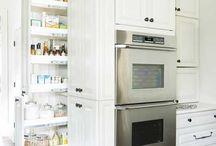 Handige opbergruimtes en slimme oplossingen / Handige ideetjes en slimme oplossingen voor in éénieders keuken.