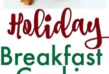 Christmas Morning Foods / Christmas morning, breakfast, brunch, food, recipes