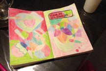 Wreck this journal my book  / Een kijkje in mijn wreck this journal boek!