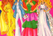 Barbie 70's ilust