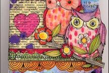 Debbie Burns / Creations from our fabulous DT member Debbie Burns!