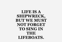 Lifeboats, , shipwrecks and the sea