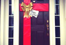 Vianočné dvere
