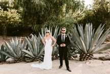 Real Wedding Feature on The Knot / A Chic, Whimsical Wedding at Leo Carrillo Ranch in Carlsbad, California