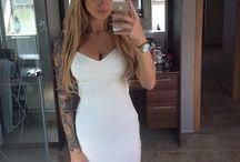 Tattoo sleeve / by Tiffany