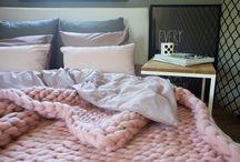Pledy/Chunky knit plaids