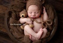 Crochet newborn props