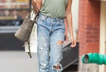 Denim Style Inspiration / Jeanius ways to style denim / by Grazia UK