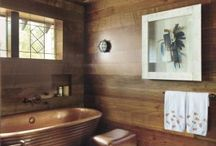Rustic Bathrooms / Your place to relax and be close to nature.