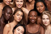 COLORS / skin, nude, flesh, black, white, yellow, all colors all people