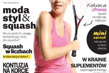 SQUASHACTIVE magazine / Squash Active magazine covers