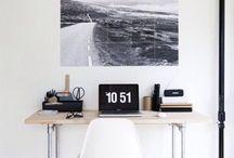 • desk area •