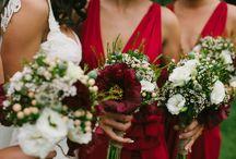 WEDDINGS Red Romance