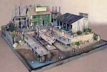 Dioramas, terrain.