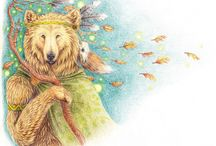 Grandmother Bear Woman / Bear Symbolism, A Wee Bit Of Celtic Lore and Of Course Gardening.