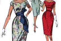 Vintage-vaatteita