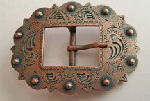 Heavy Duty Belt Buckles / Our buckles are made for horse tack but have been used on belts, purses, hand bags and more!