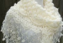 wedding crochet shawl
