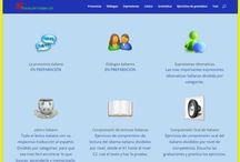 Aprender italiano / Sitio web de recursos para aprender el idioma italiano