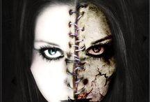 halloween femme maquillage