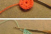 chrochet work/macrame