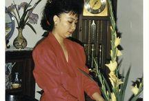 My ikebana ikenobo activities / 1989 - 2006