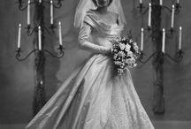 1940s bridal photos
