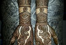 mehndi for abeera, ideas by haroon