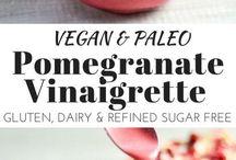 Vegan Vinaigrettes / Sauces / Pastes