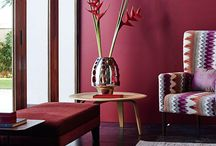 Madder Red: 2016 Colour of the Year / Your inspiration board for everything Madder Red, the 2016 Asian Paints Colour of the Year!