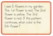math problem solving for kindergarten & 1st grade
