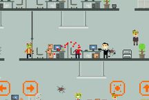 Zombies in office (game) / images and screenshots used in the game