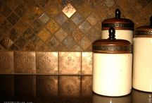 copper kitchen / by Doreen Strom