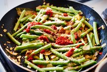 Indische groente gerechten