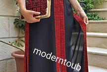 palæstinensiske tøj/kjoler