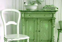 Vihreää / Kaikkea kaunista vihreän sävyissä...