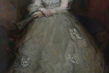 женский портрет ростовой (female portrait)