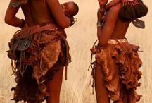 África. Tribu Himba