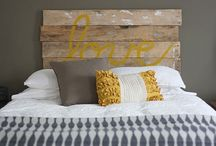 bedroom re-do / by Beccy Crane Fink