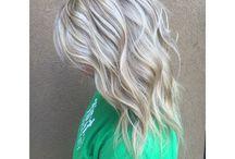 Wedding hair colour