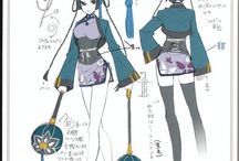 Ran Mao cosplay project
