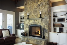 Fireplace redesign / by Laurie Hannon